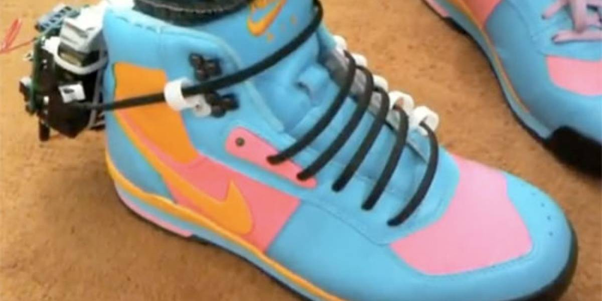 Zapatillas autoajustables de Marty McFly