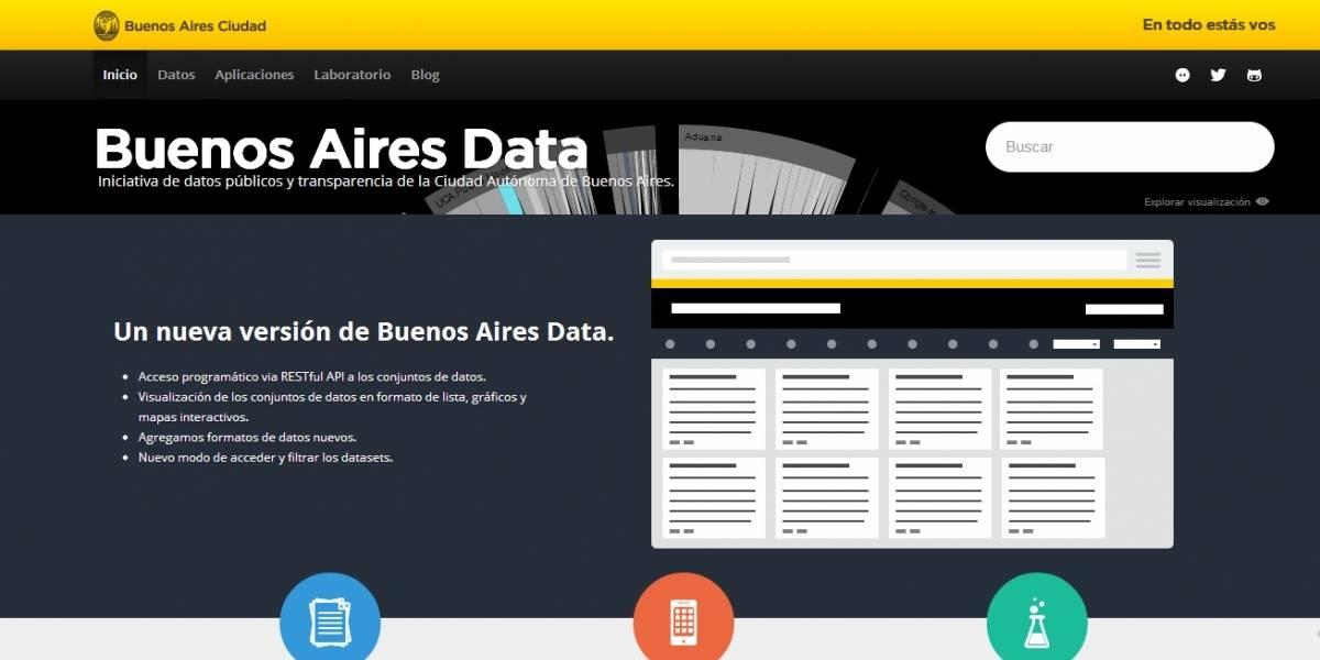 Argentina: La Ciudad de Buenos Aires renovó su web de Información Pública