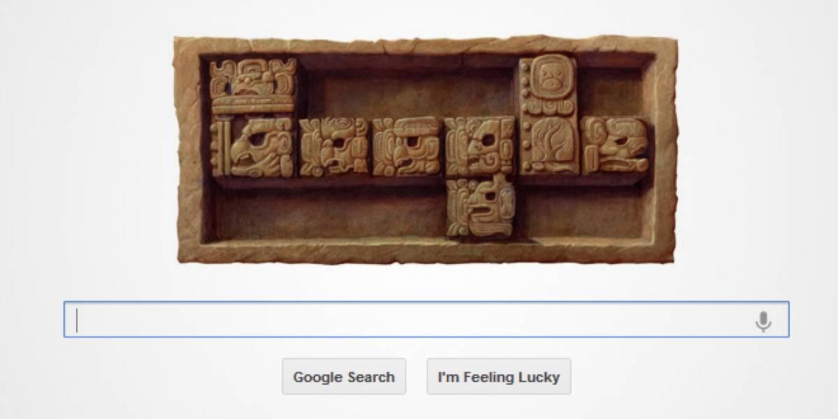 Google celebra el baktún número 13 del calendario maya