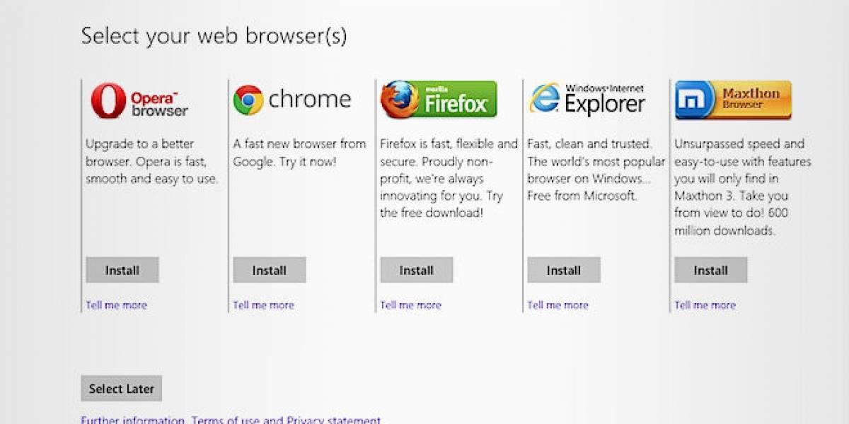 Europa multa por USD$732 millones a Microsoft por no cumplir acuerdo sobre navegadores