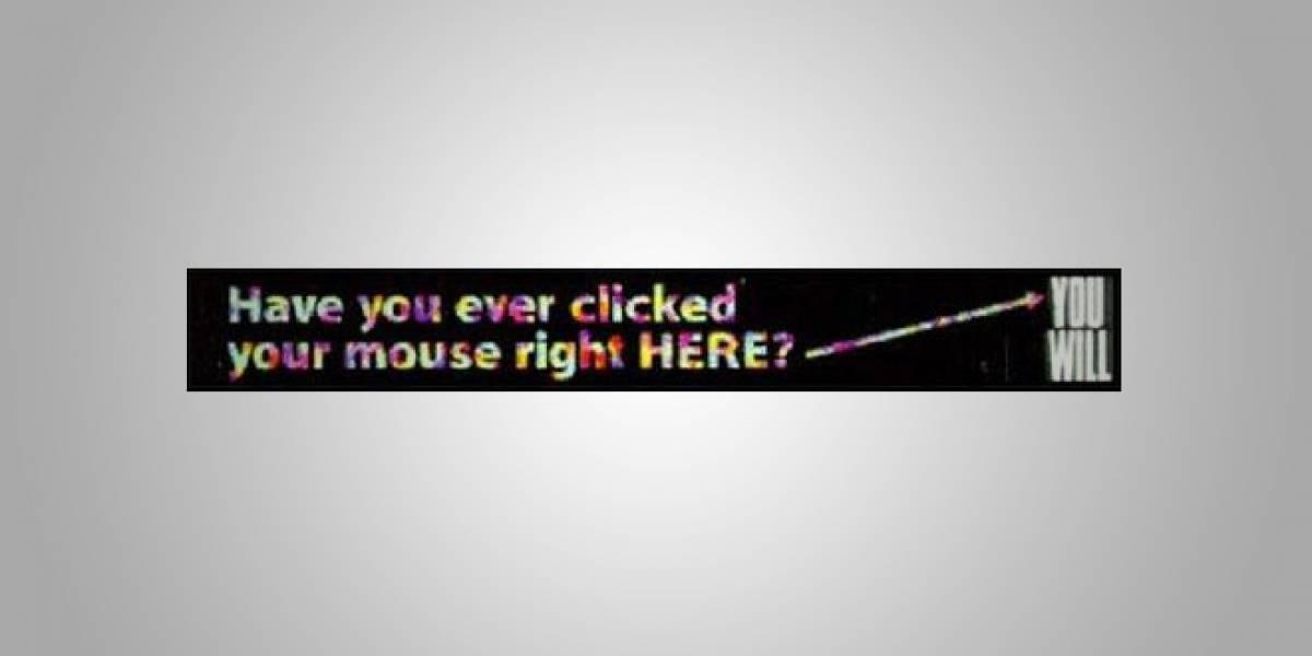 Con ustedes, el primer banner en la historia de Internet