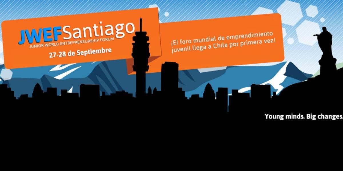 Debuta en Chile el Junior World Entrepreneurship Forum para emprendedores jóvenes