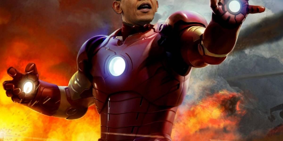 """Barack Obama: """"Estamos construyendo nuestro propio Iron Man"""""""
