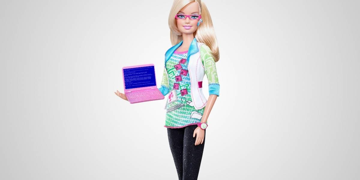 Barbie sí puede programar: Mattel se disculpa por el libro sexista que publicó