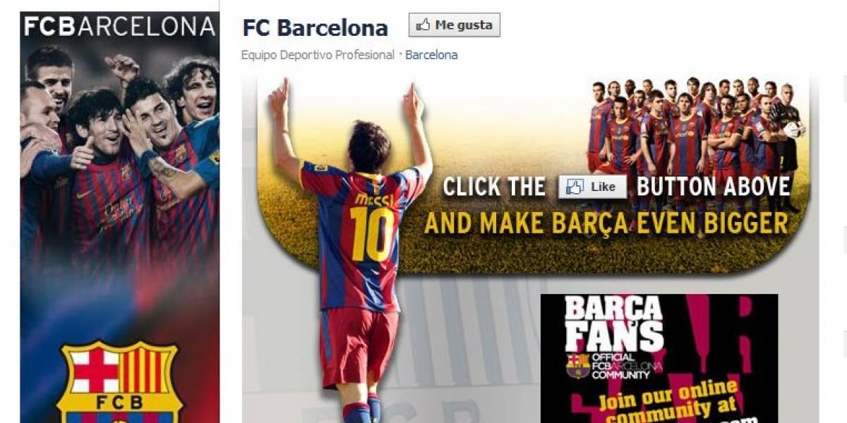 El Barcelona FC también tiene de hijo al Real Madrid en las redes sociales