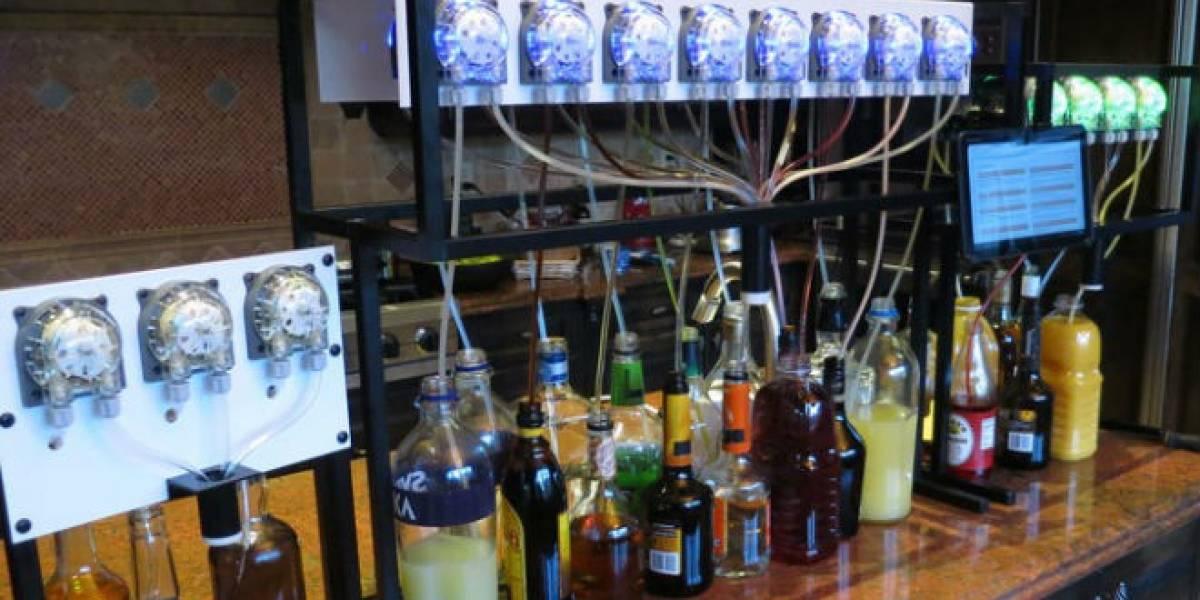 Bartendro, un robot barman en base a Raspberry Pi que busca dinero en Kickstarter