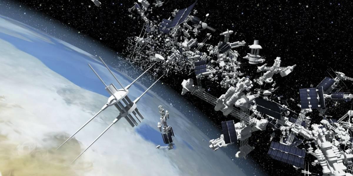 Video muestra la basura espacial acumulada desde 1957