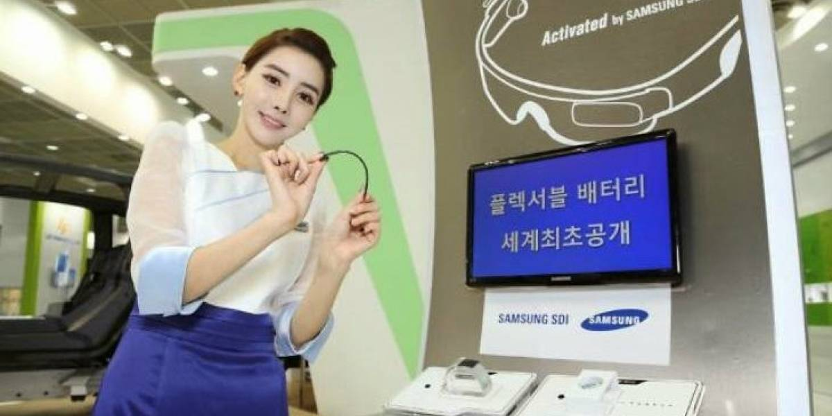 Samsung desarrolla una batería tan flexible que hasta se puede enrollar