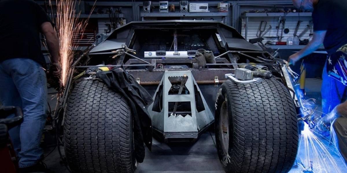 Batimóvil competirá en rally de autos de lujo en EE.UU.