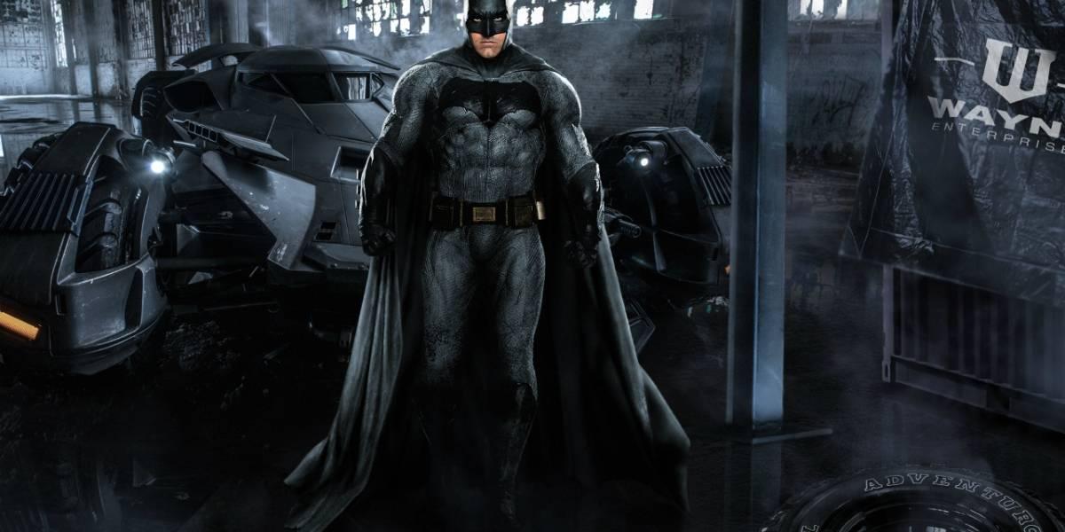 Ben Affleck ha terminado el guión para la película de Batman