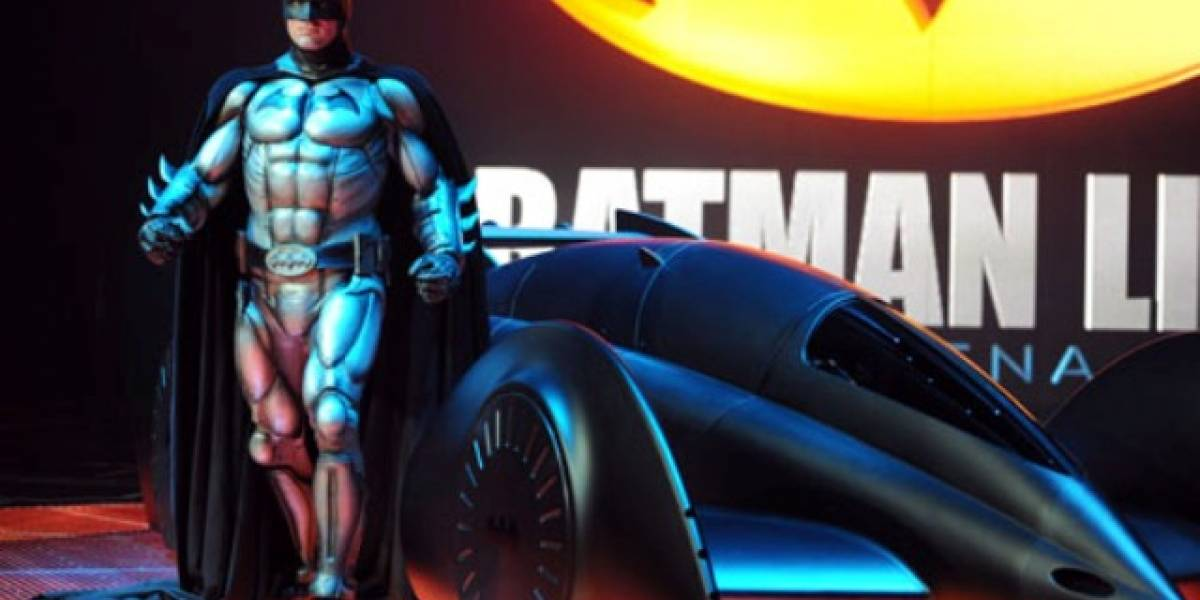 El caballero oscuro estrena batmóvil inspirado en la F1