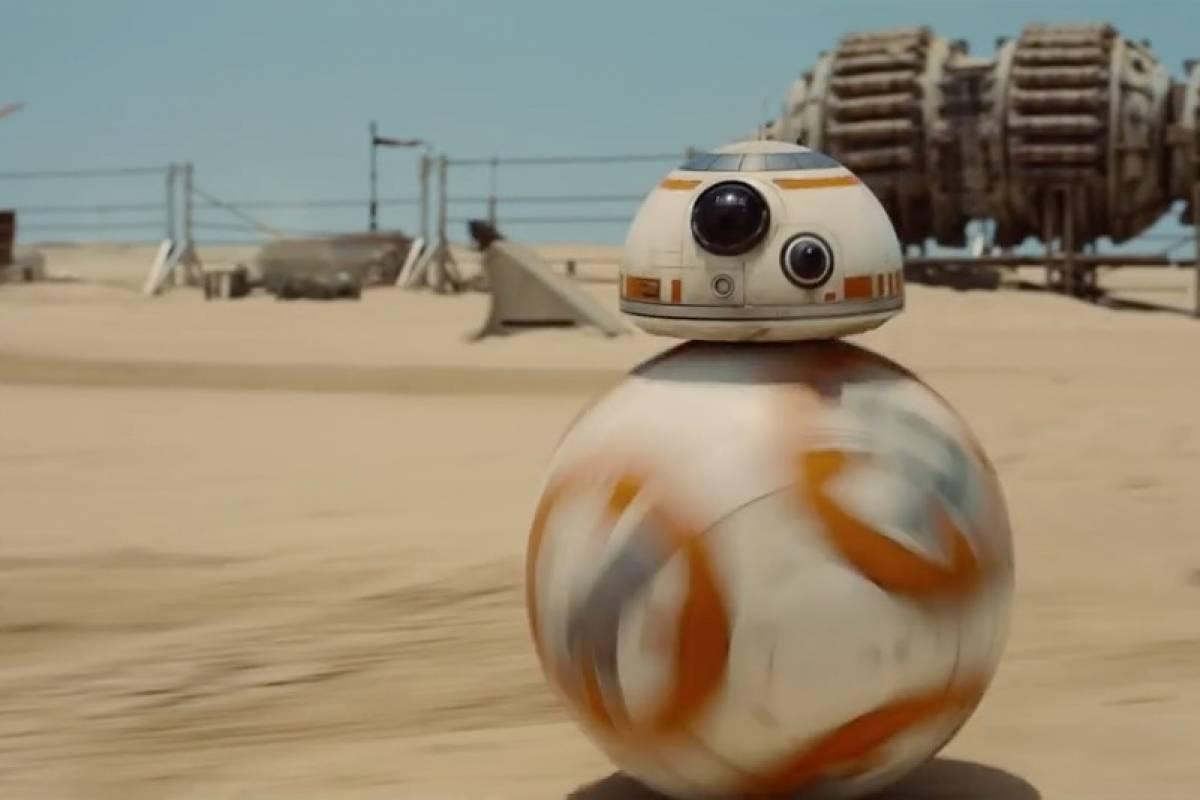 Construyen un BB-8 con imanes y un Sphero