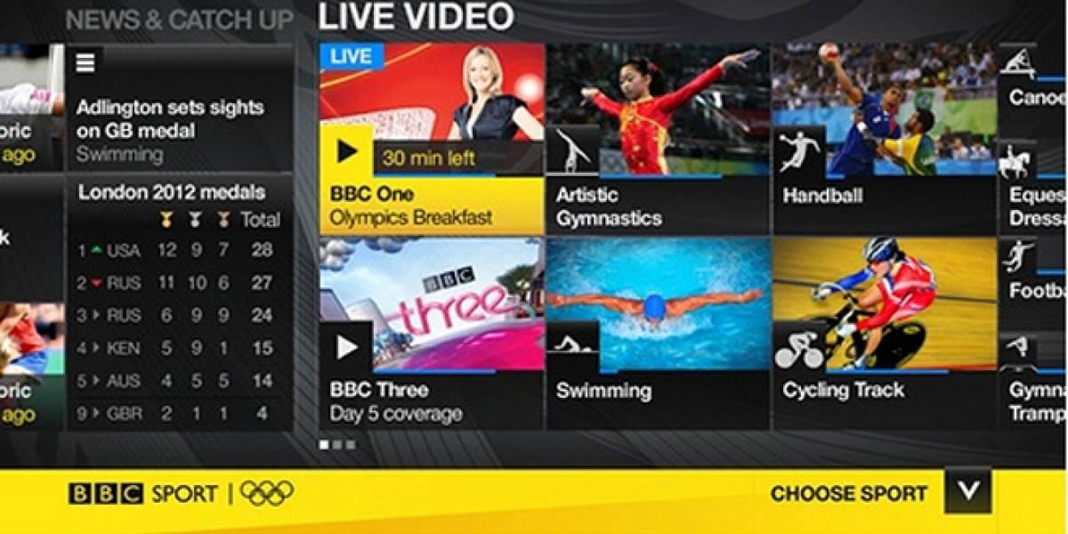 La BBC transmitirá gratuitamente las olimpiadas en el PlayStation 3