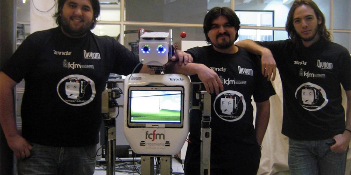 Chile: El robot Bender está listo para viajar a la RoboCup en Estambul