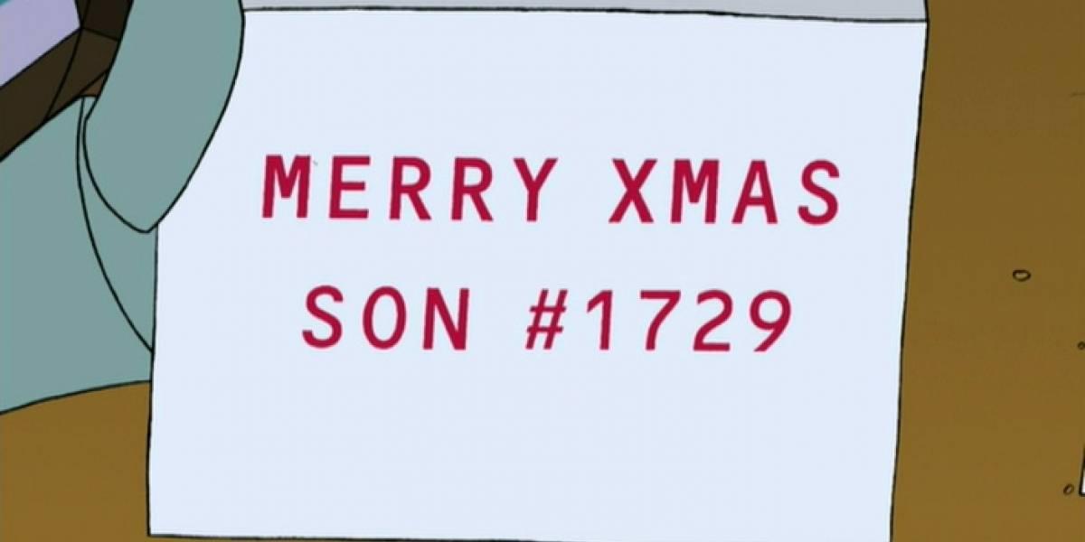 ¿Por qué el número 1.729 aparece en tantos episodios de Futurama?