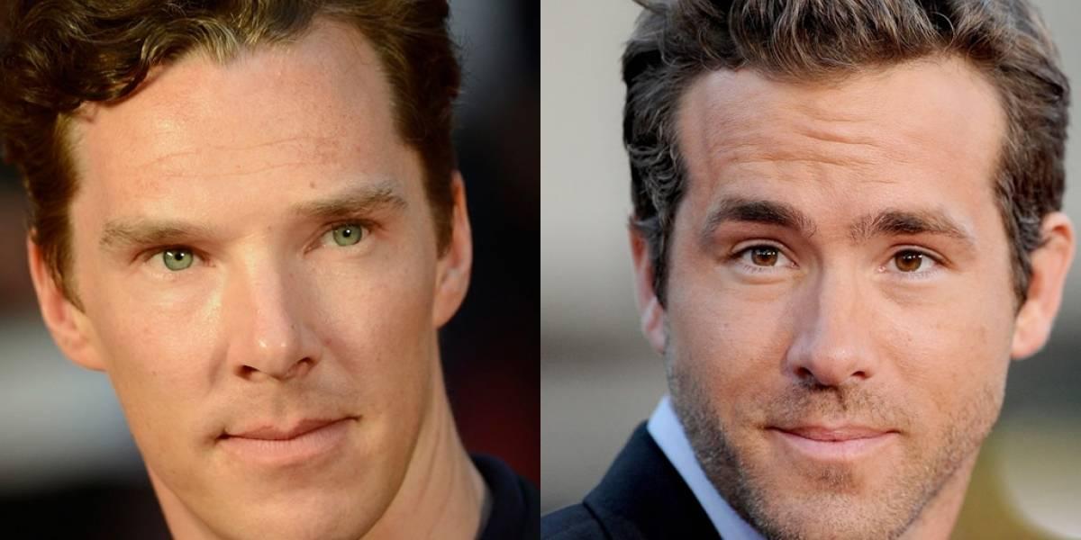 Se confirman dos actores más para los filmes de Marvel: Benedict Cumberbatch y Ryan Reynolds