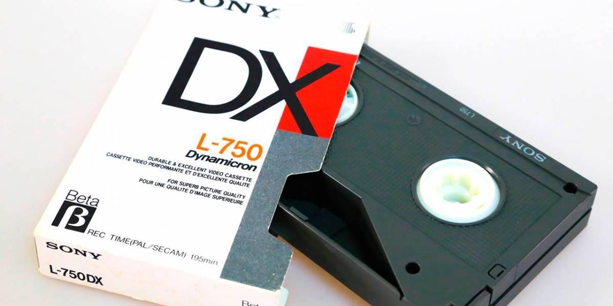 Sony al fin dejará de producir cintas Betamax