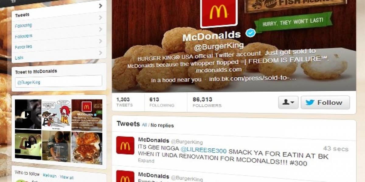 Burger King pide disculpas luego del incidente con su cuenta en Twitter