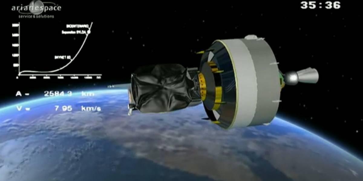 México: El Satélite Mexsat Bicentenario ya está en orbita