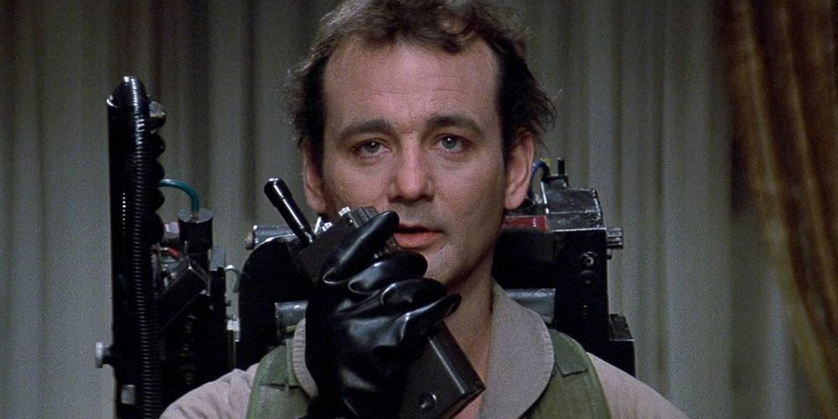 Finalmente Bill Murray será parte de la nueva película de Los Cazafantasmas