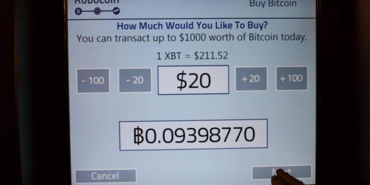 Primer cajero de bitcoins supera en un mes el millón de dólares en transacciones