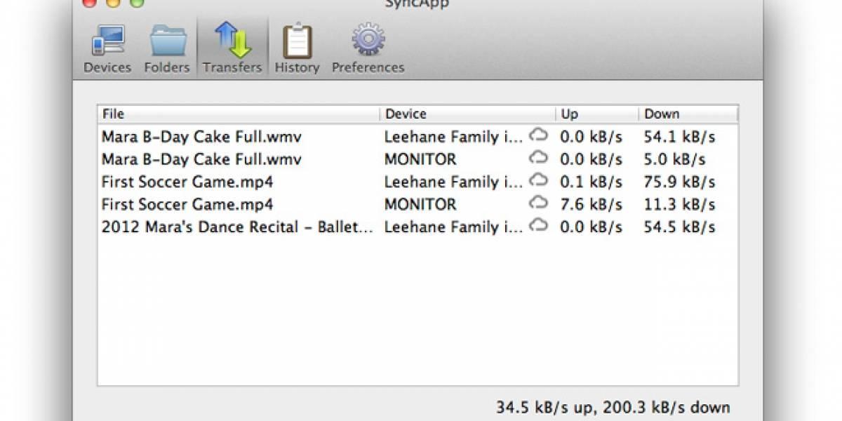 BitTorrent trabaja en una aplicación de sincronización usando P2P