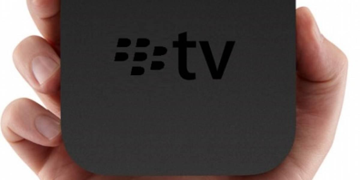 Futurología: RIM también quiere llevar Internet al televisor