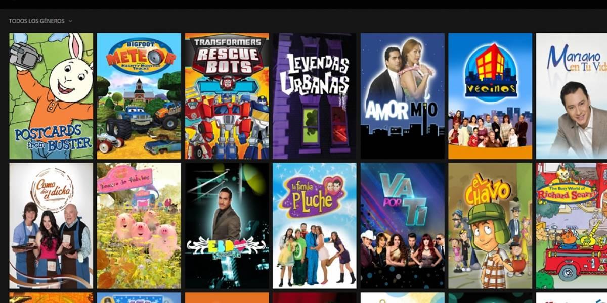 Televisa lanzó servicio de video que pretende competir con Netflix en México