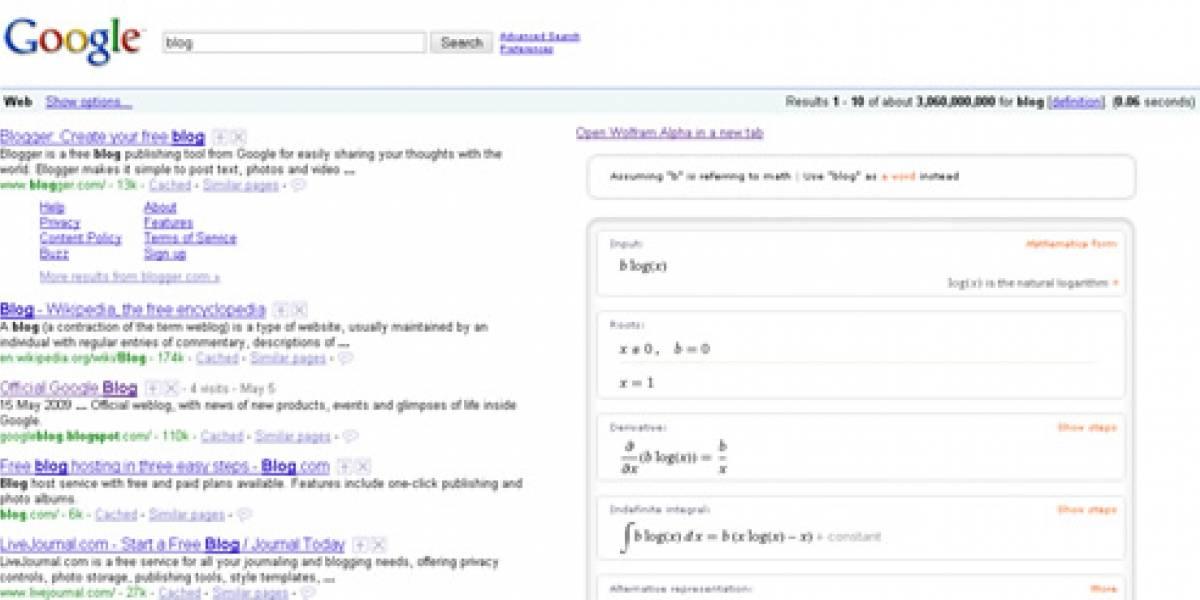 Plugin de Firefox muestra resultados de Wolfram Alpha en Google