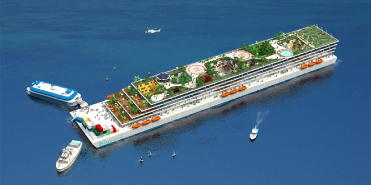 Más de 100 empresas están interesadas en irse a un barco incubadora en aguas internacionales