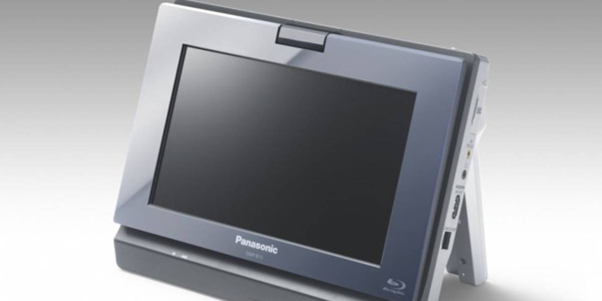 CES09: Panasonic DMP-B15, el primer Blu-ray portátil