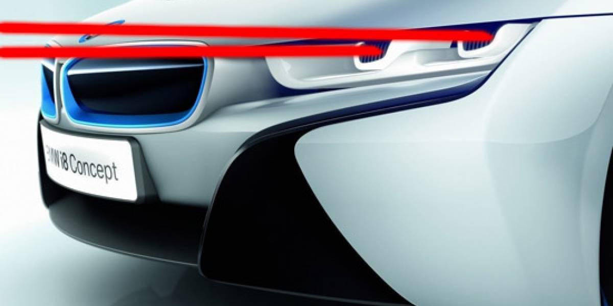 BMW pondrá lásers en sus focos (y no serían para eliminar obstáculos)