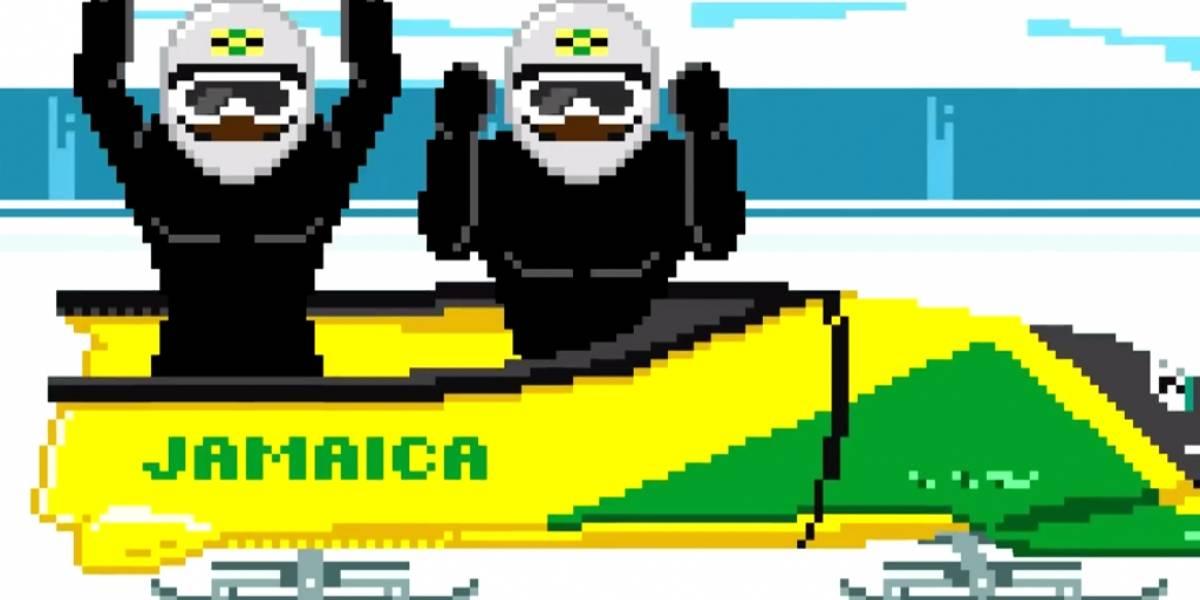 Jamaica celebra con video 8 bit sobre bobsled su participación en Sochi