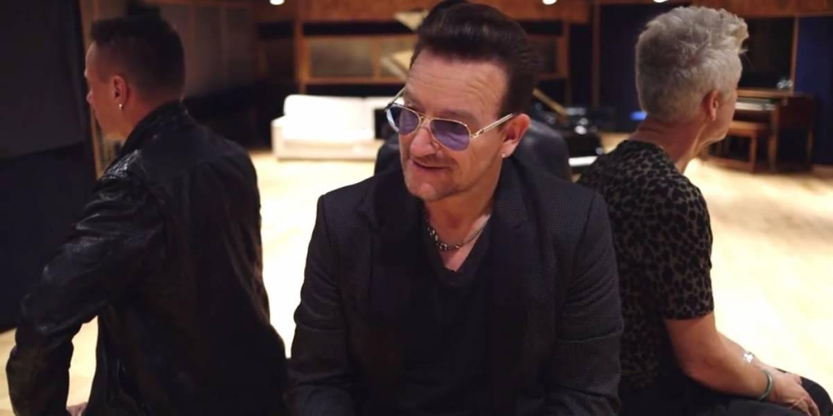 Bono se disculpa por el lanzamiento del álbum Songs of Innocence en iTunes