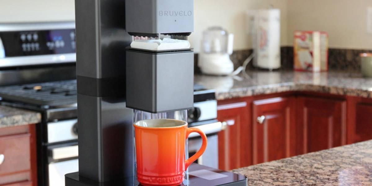 Bruvelo, la cafetera inteligente que se conecta a WiFi