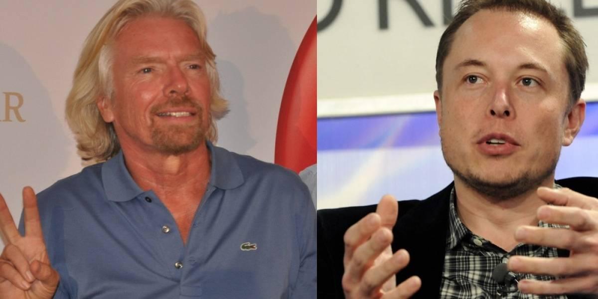 Sigue en vivo el Hangout de Elon Musk y Richard Branson