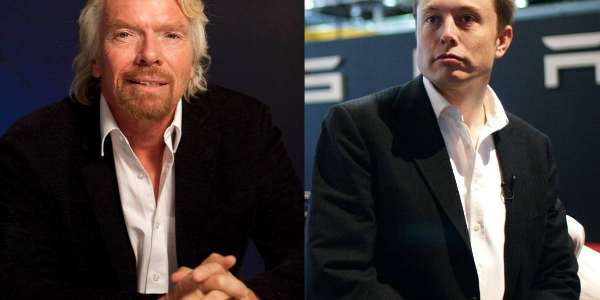 Google organiza Hangout con Richard Branson y Elon Musk
