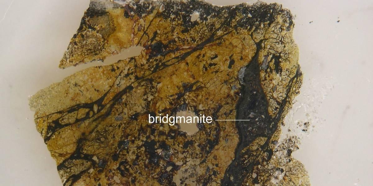 Por fin tenemos una muestra de la bridgmanita, el material más abundante de la Tierra