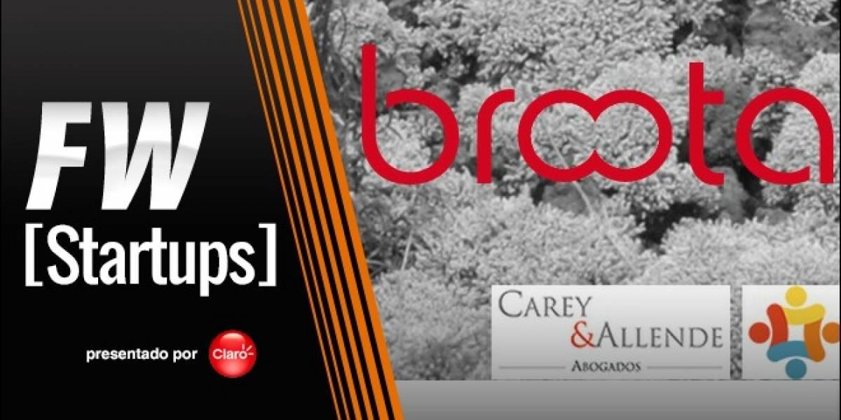 Broota le busca inversionistas iniciales a emprendimientos en Chile [FW Startups]