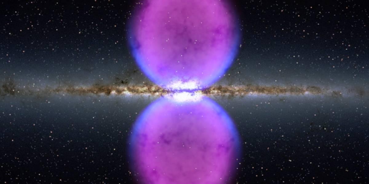 Descubren dos burbujas gigantes en el espacio