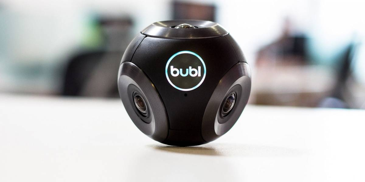 Bublcam, la cámara sin puntos ciegos