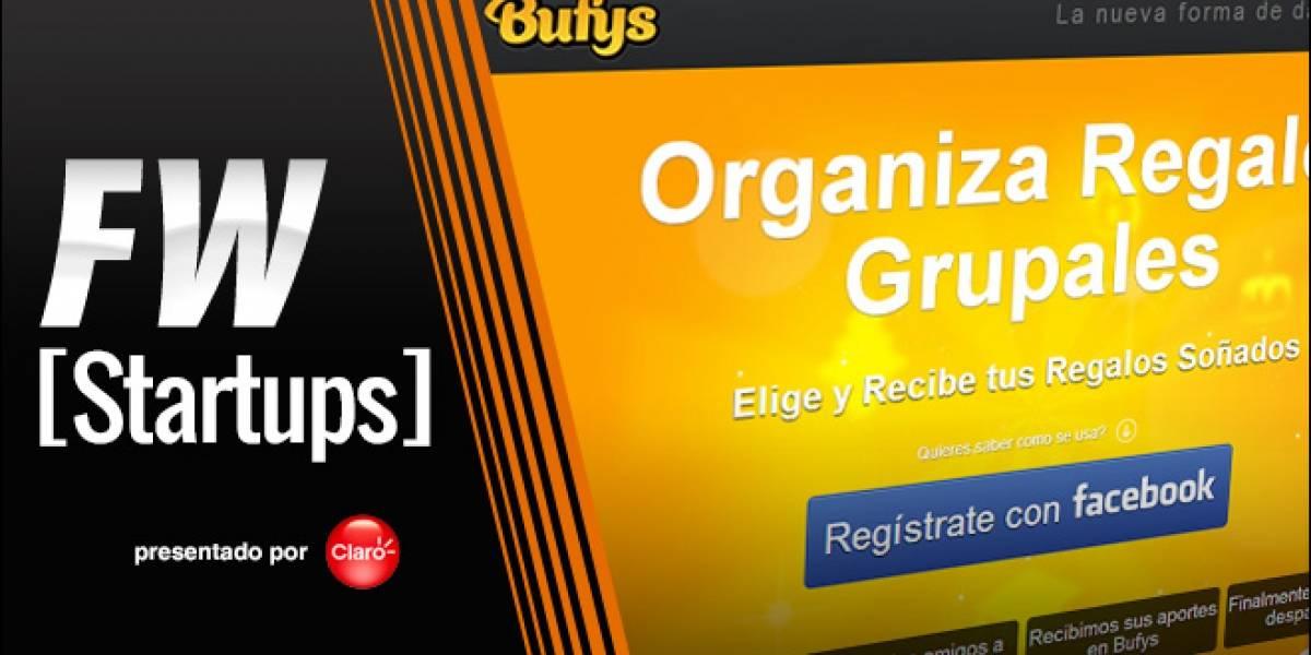 Bufys: Haciendo regalos colaborativos [FW Startups]