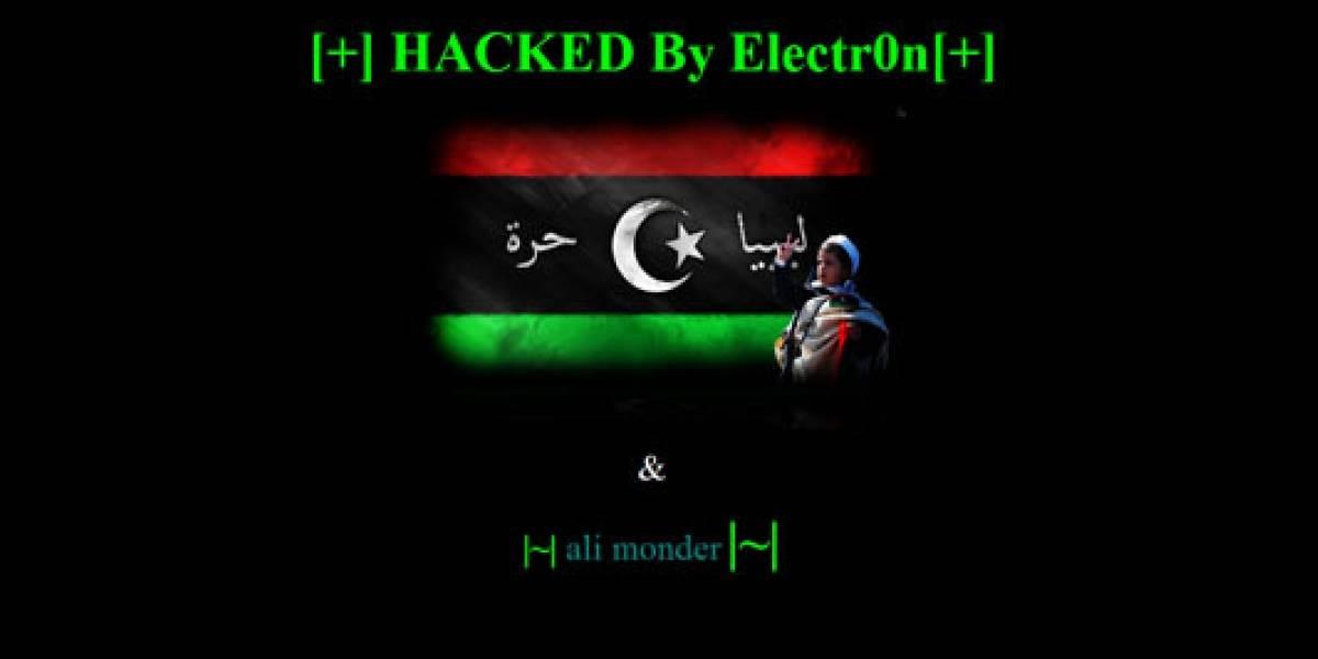 Hacker anti-Gaddafi ataca el sitio de registro de dominios de Libia