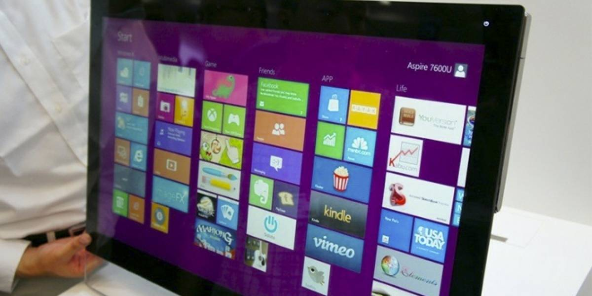 Acer lanza dos modelos de todo-en-uno con pantalla tácil y ultra delgados