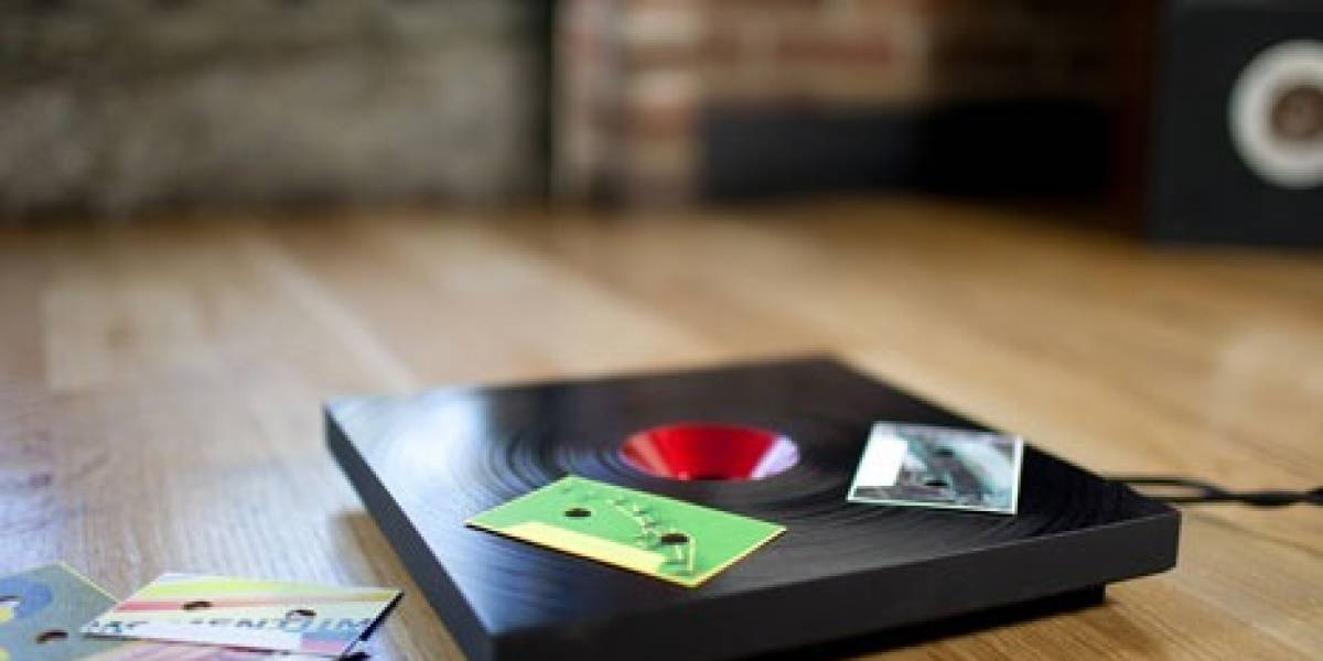 C60: Un reproductor de MP3 en base a RFIDs, tocadiscos y mucha onda