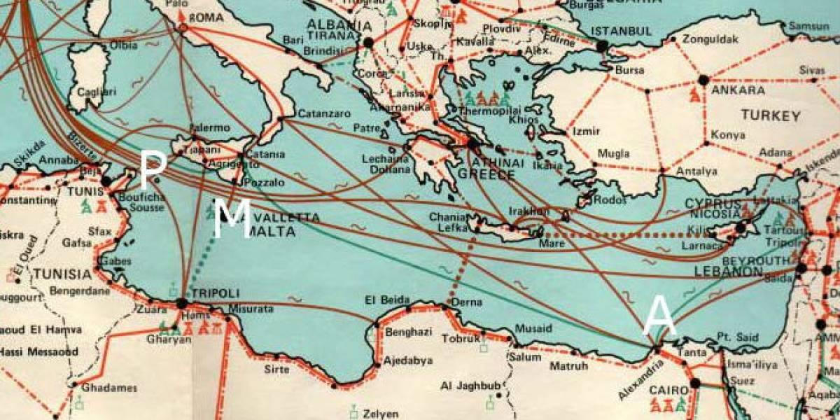 Saboteadores intentan cortar el cable submarino de Internet en Egipto