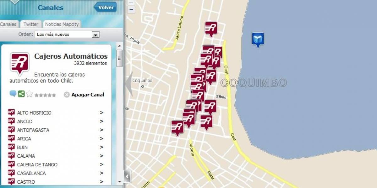 Chile: Mapcity lanzará nueva versión de mapas con información geolocalizada