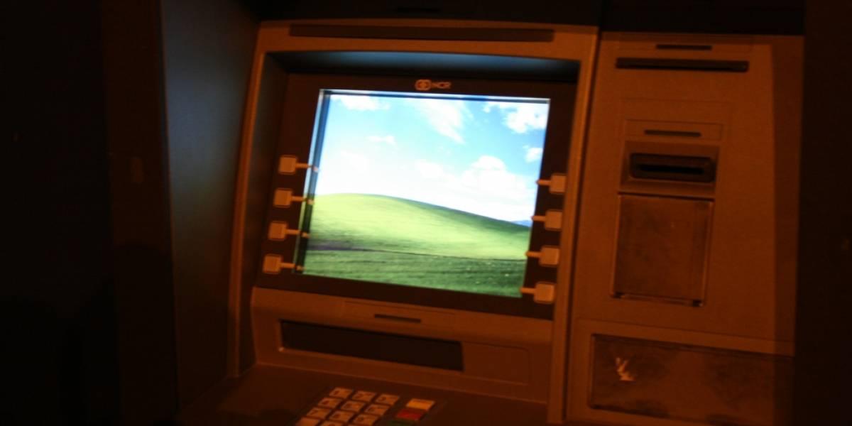 Delincuentes roban cajeros automáticos enviándoles un SMS