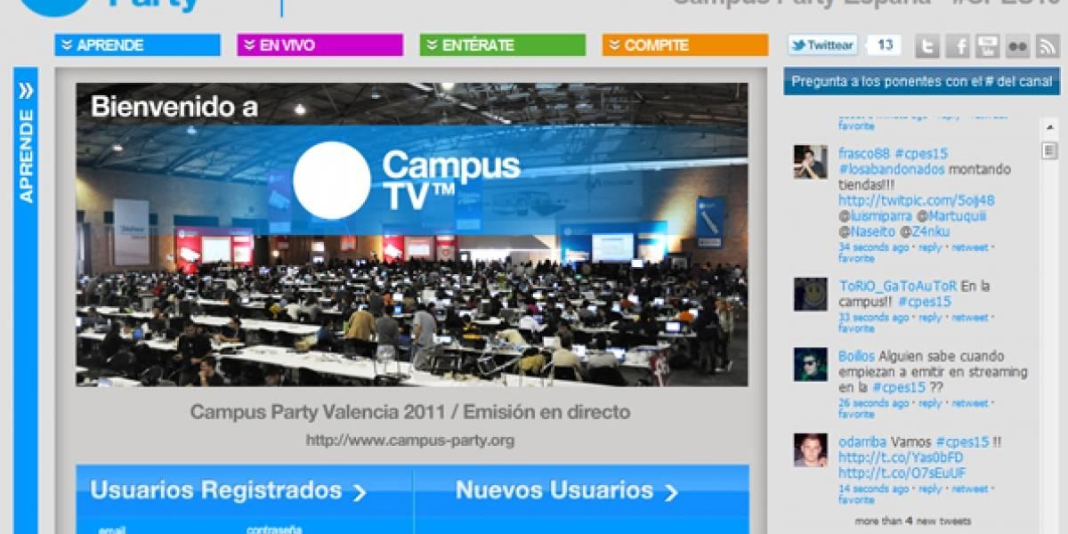 Hoy arranca la Campus Party Valencia 2011