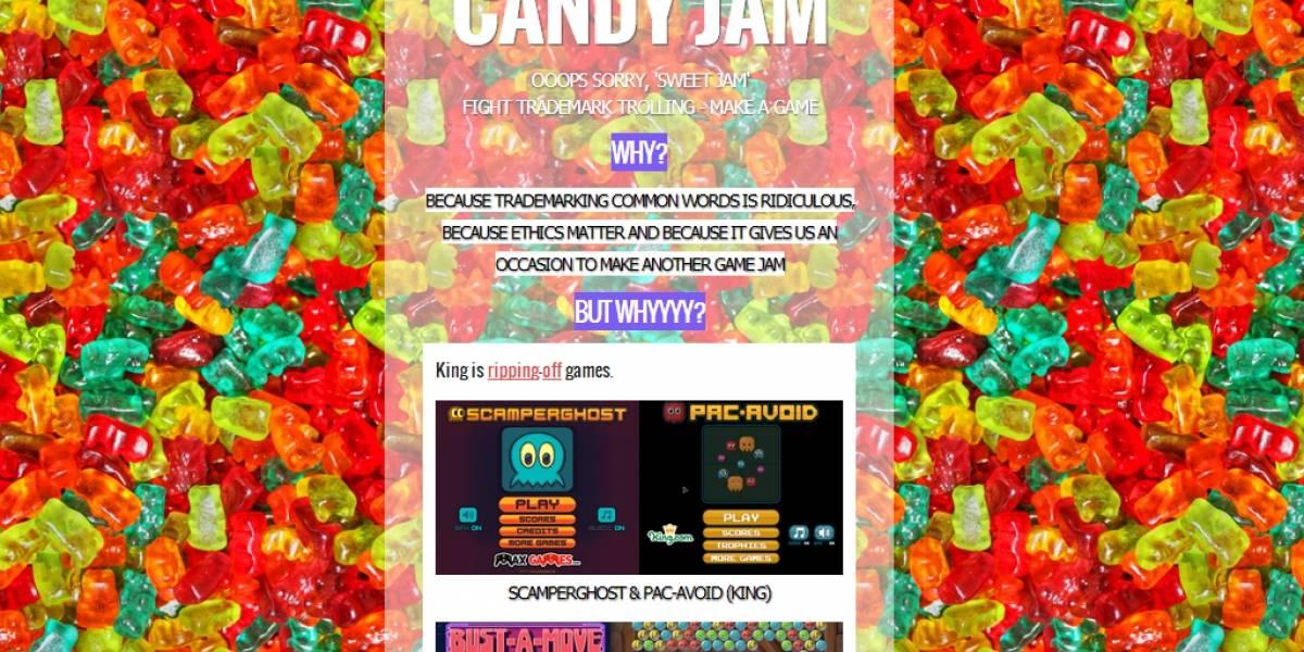"""Desarrolladores trollean a Candy Crush por registrar """"candy"""""""